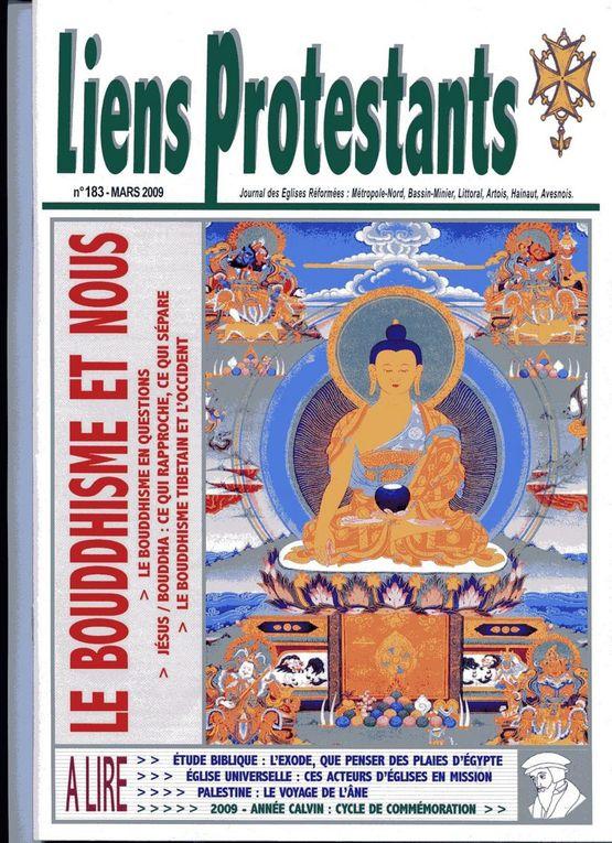 couvertures de Liens protestants pour l'année 2009