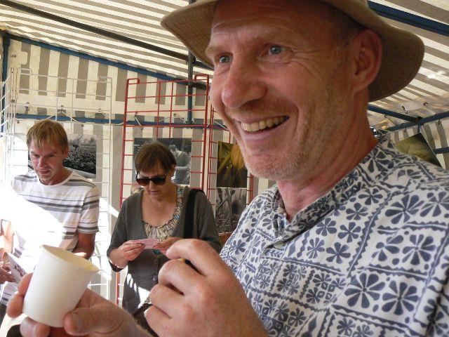 Ateliers et dégustations avec Julie Amselem et Anthony Caillot.Les 11 et 12 septembre 2010 à Caen.
