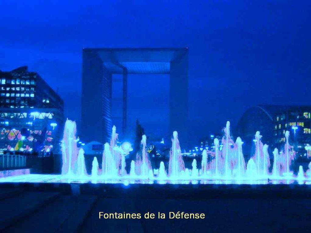 Quelques images des fontaines de Paris
