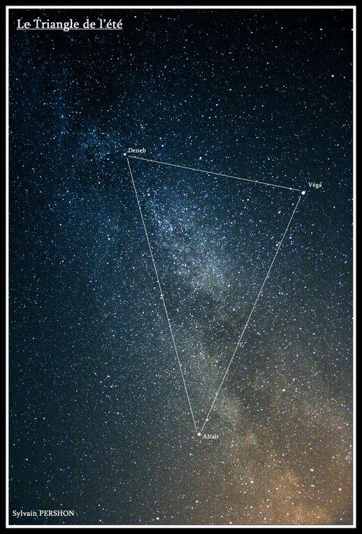 photos de constellations ou du ciel nocturne.