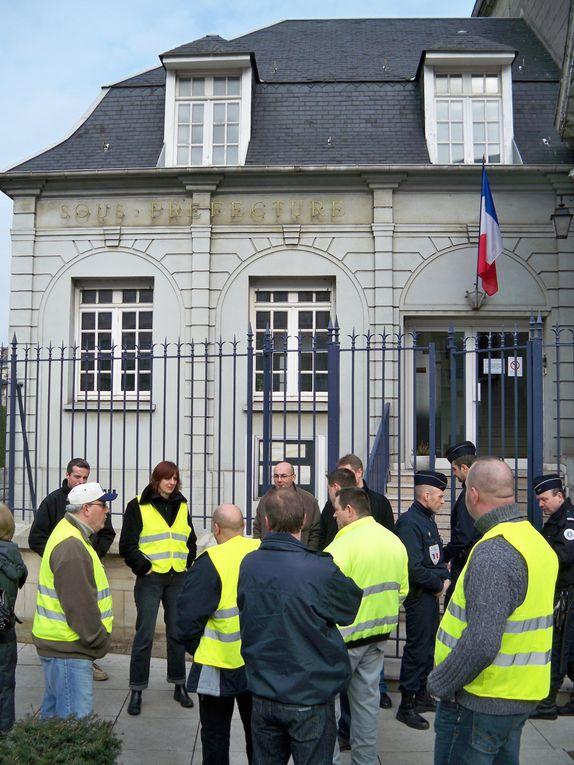 Le SPI GSEA se fait inviter à la Sous Prefecture de Valenciennes concernant la crise que traverse SEVEL le vendredi 13 mars