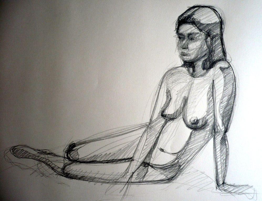 Voici une série de dessin et peinture que j'ai réalisé lorsque je vivais au Brésil.