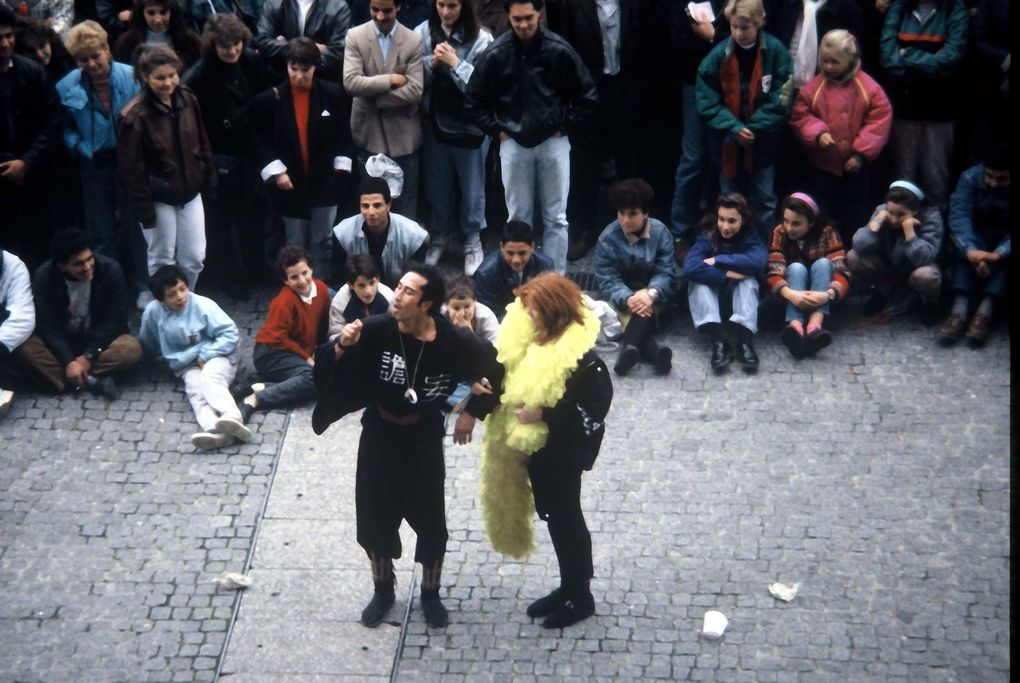 Photos prises à Paris en argentique en 1988