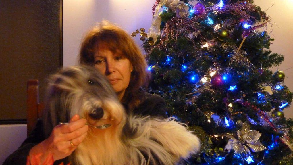 Ulysse et Elfy un soir de Noël 2012