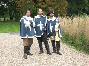 Photos prises durant la journée du patrimoine de septembre 2008 au Chateau de la Grange à MANOM, Moselle.