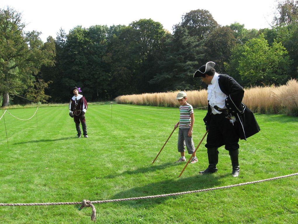 Photos prises durant la journée du patrimoine du Dimanche 20 Septembre 2009 au Château de La Grange à Manom.