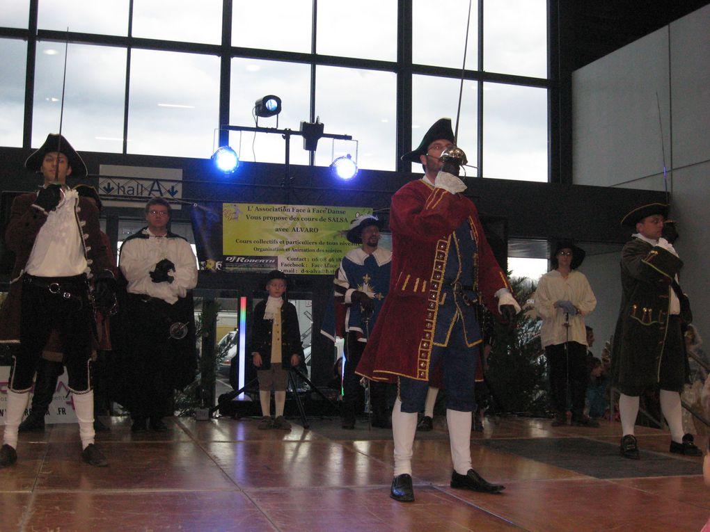 Animation et stand pour une action caritative Noël de Joie, le Dimanche 14 Novembre 2010.