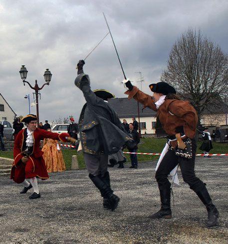 Participation à la commémoration du retour au Royaume de France de Ver Ebervillers (Farébersviller) le 27 Février 2011.
