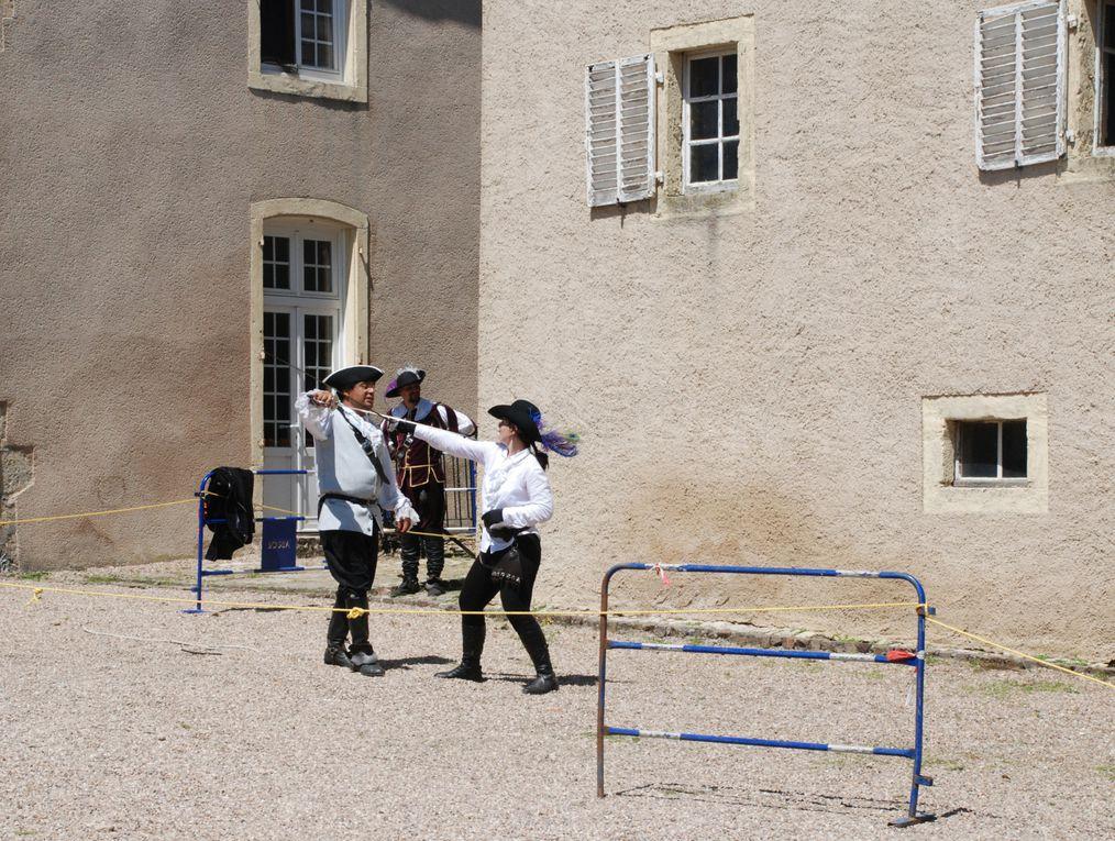 Animations pour la commémoration des 400 ans du château de Bionville.