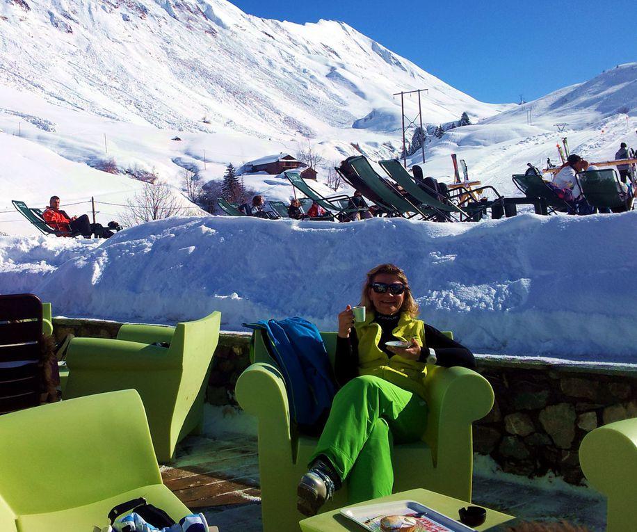 Passage des étoiles et ski au Grand BORNAND le 23/02/2014