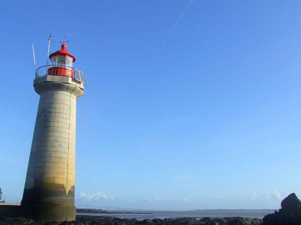 L'embouchure de la loire à St Nazaire et ses alentours.