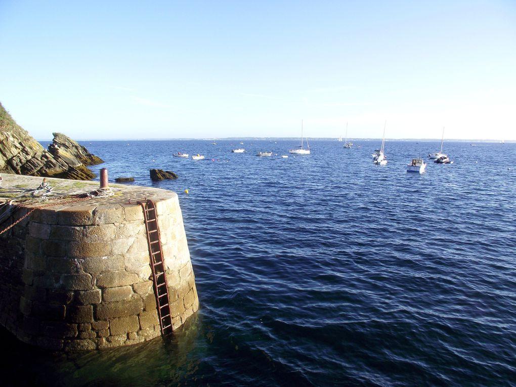 L'ile de Groix au large de Lorient, une ile sortie des eaux !