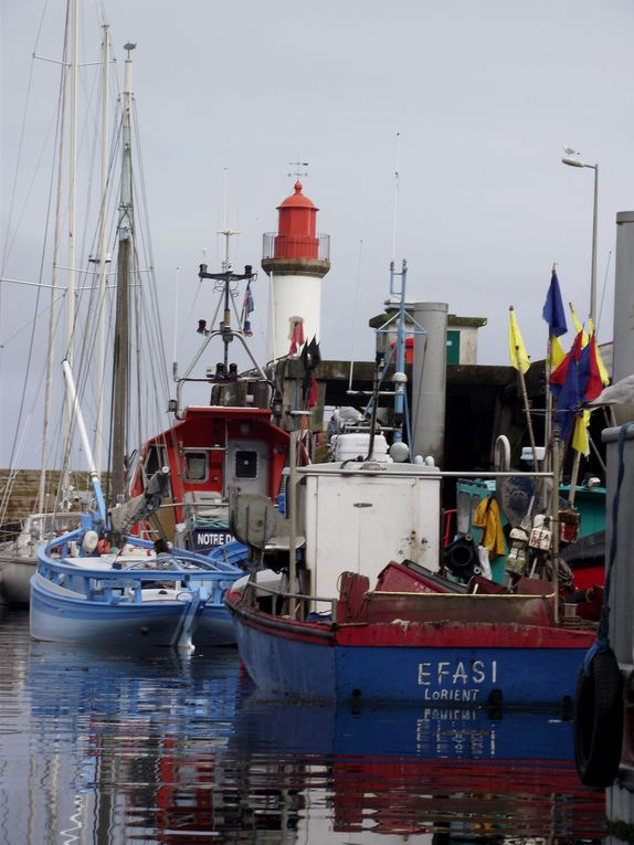 Port Tudy sur l'Ile de Groix ( Morbihan )