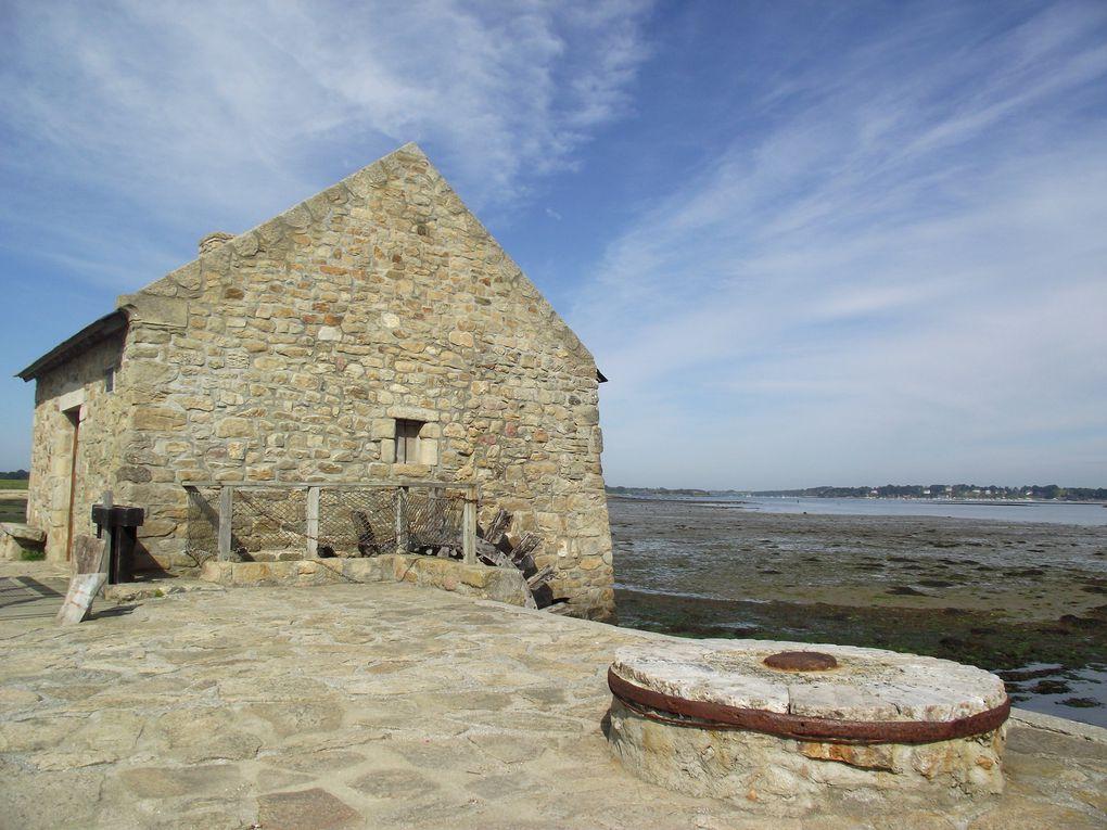 L'ile d'Arz dans le Golf du Morbihan.