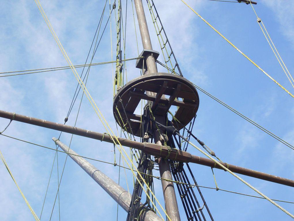 Rochefort sur Mer en Charente Maritime, son port, la Corderie royale et le chantier de l'Hermione.