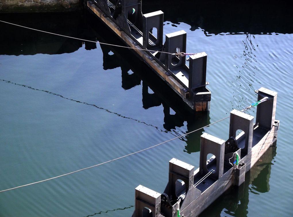 Le port de St Nazaire et ses activités.