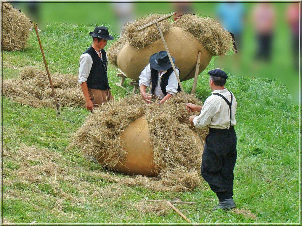 Fête de la terre à Sixt-Fer-à-Cheval le 25 juillet 2010 (traditions, métiers anciens).