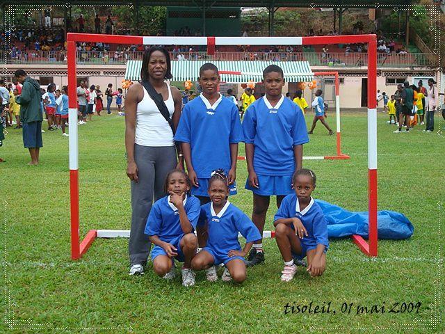 Dernière regroupement de la saison, organiser par la Ligue de Handball et ASC Inter Carbet.