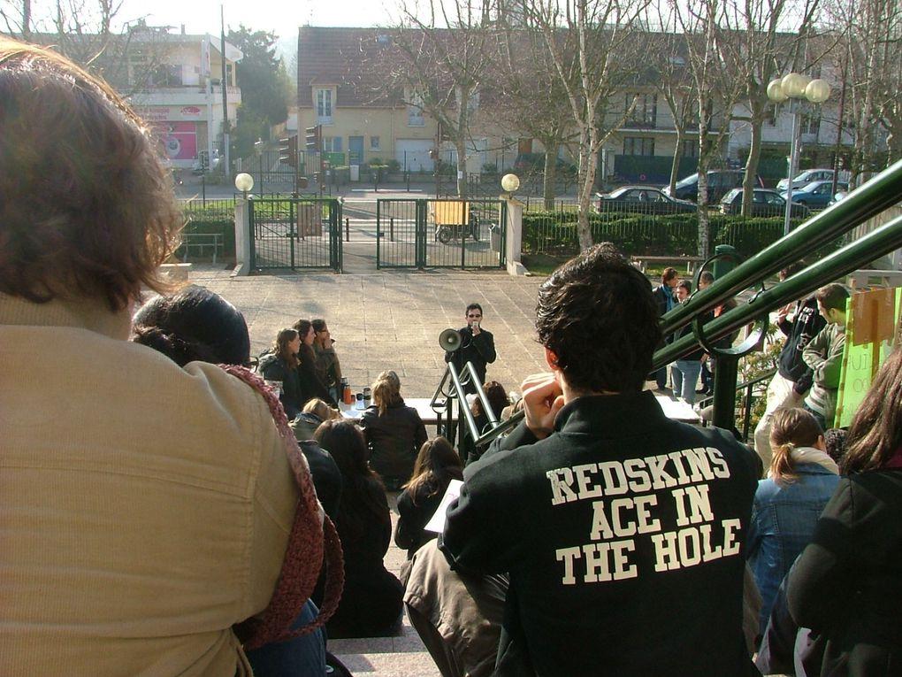 Album - blocage et occupation mercredi 18 mars 2009