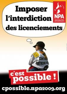 "Campagne ""cpossible.npa2009.org"""