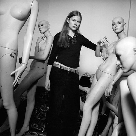 "Fashion Story . 5 models, natural and ""fashionized"". ©Anne Deniau 1999"