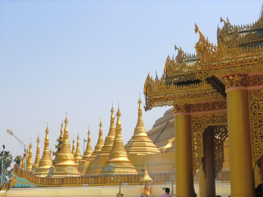 2èmes et 3èmes jours de voyage :Bangkok-Marché-Bago