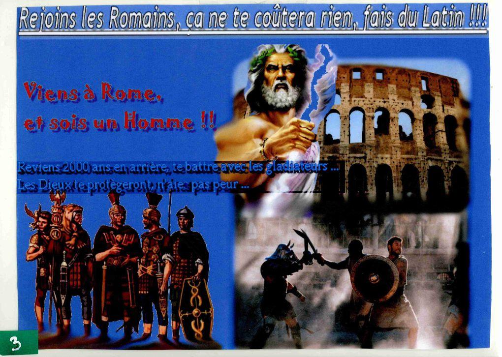 Promotion du latin 3°, 2008-2009