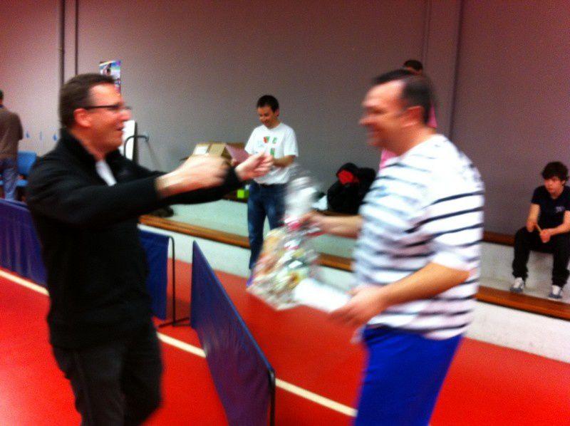 3ème édition du tournoi de ping pong de la DTEAM - 23/03/2013.Vainqueur Jean Baptiste pour la 3ème fois