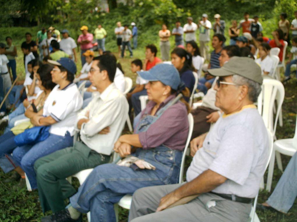 Actividades realizadas por el Colegio Liceo Coatepeque, en el Parque Ecologico