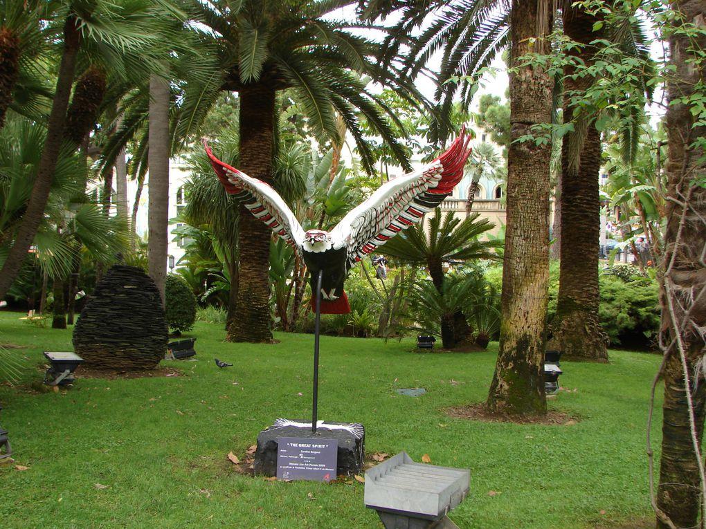 Save the planet : rencontre avec de magnifiques aigles sculptés