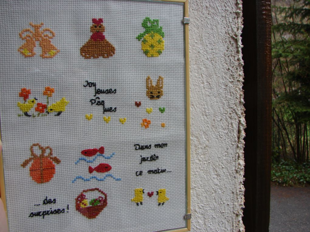 Mes broderies terminées