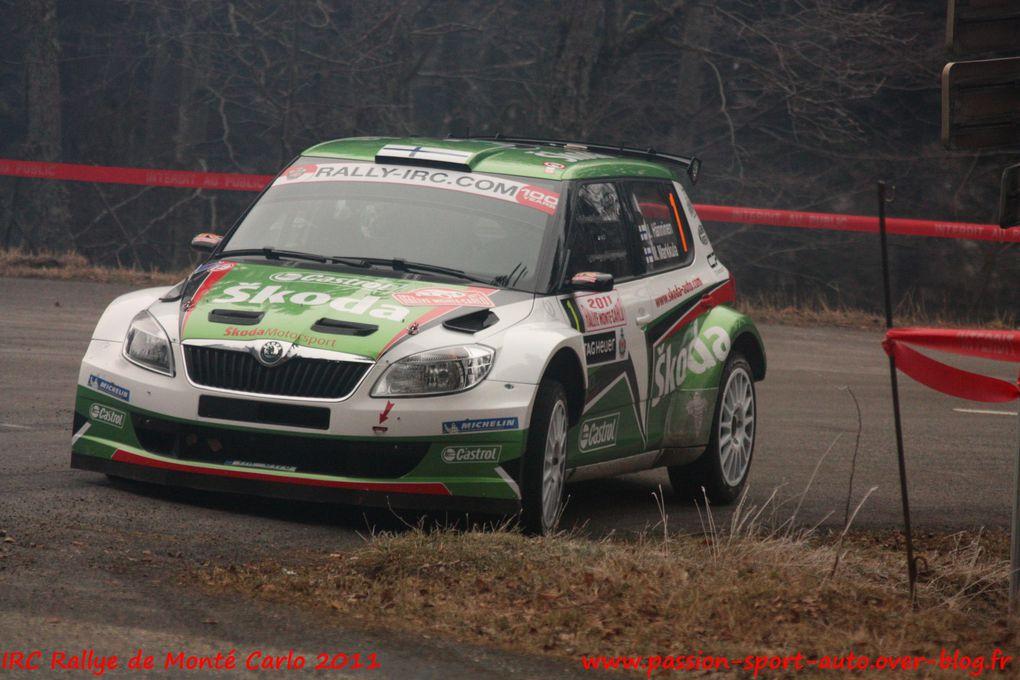 Album - IRC-Rallye-Monte-Carlo-2011-2eme-etape
