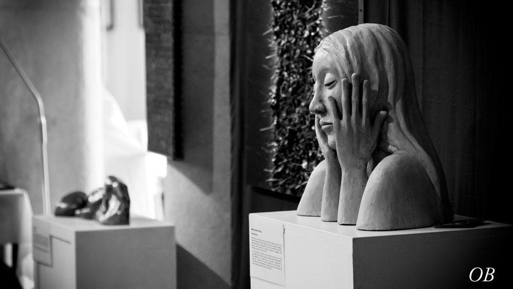 """Exposition itinérante """"l'Art Sacré Aujourd'hui"""" en juin, juillet et août 2014, d'Arros à Piétat en passant par la Maison de retraite de St Joseph à Nay. Une libre interprétation du thème du sacré par des artistes contemporains."""