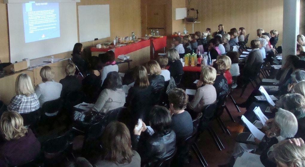 """Buffet-débat du jeudi 15 octobre 2009 au CHU sur le thème """"Prévention, santé des femmes"""""""