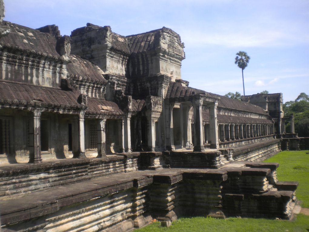 de Battambang à Banlung en passant par Siem Reap, Kompong Thom, Kompong Cham, Kratie