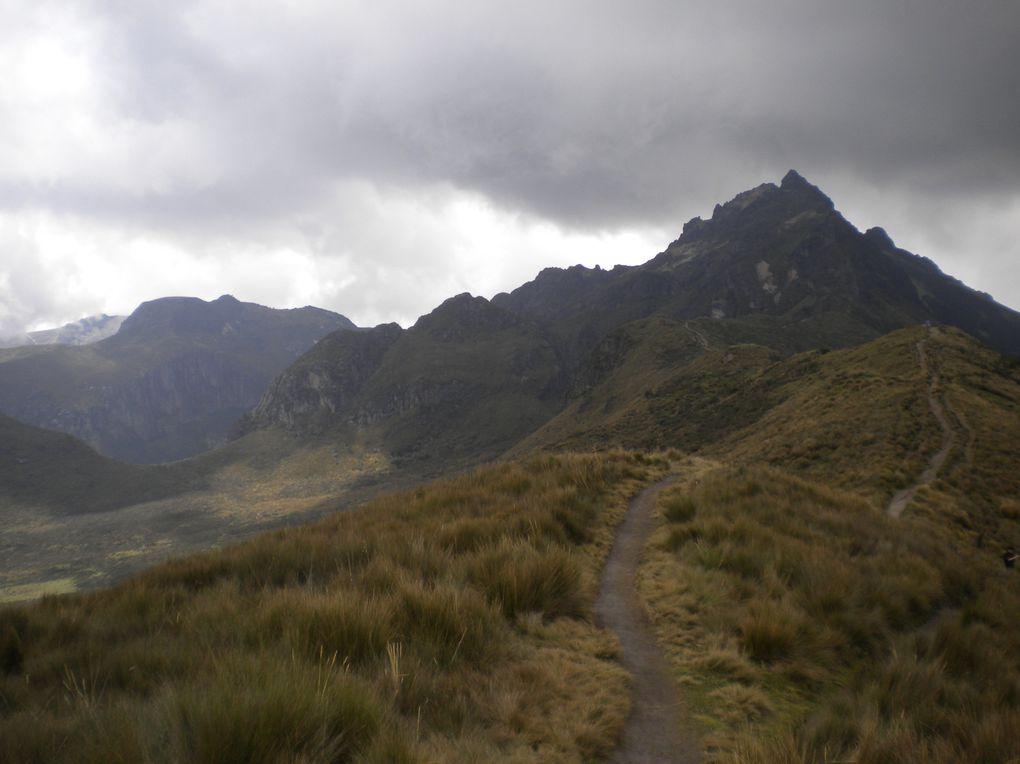 Cotopaxi, Pichincha, Imbabura, Carchi