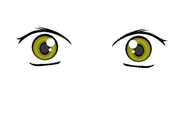 """Aqui les muestro variedades de ojos que se pueden crear en """"paint"""""""