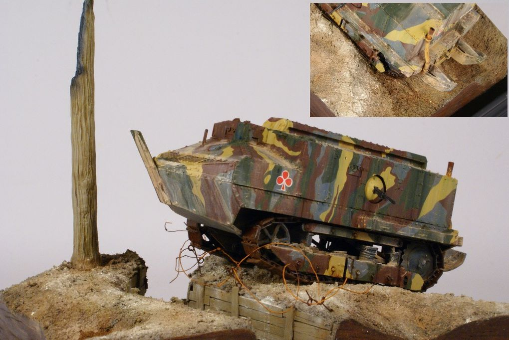 Scale models in this gallery was made by Olivier Antoine