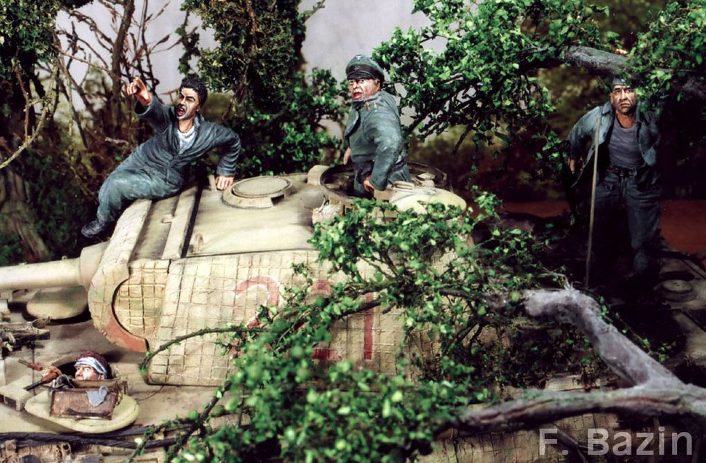 Context of the diorama: 