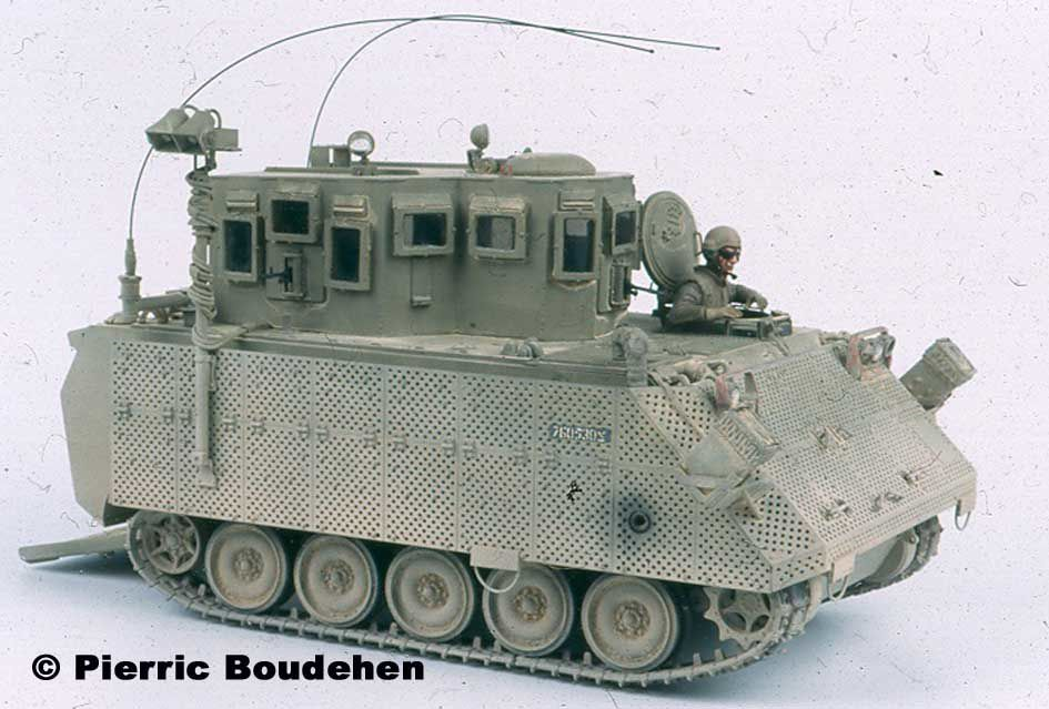 All scale models in this gallery were made by Pierric Boudehen