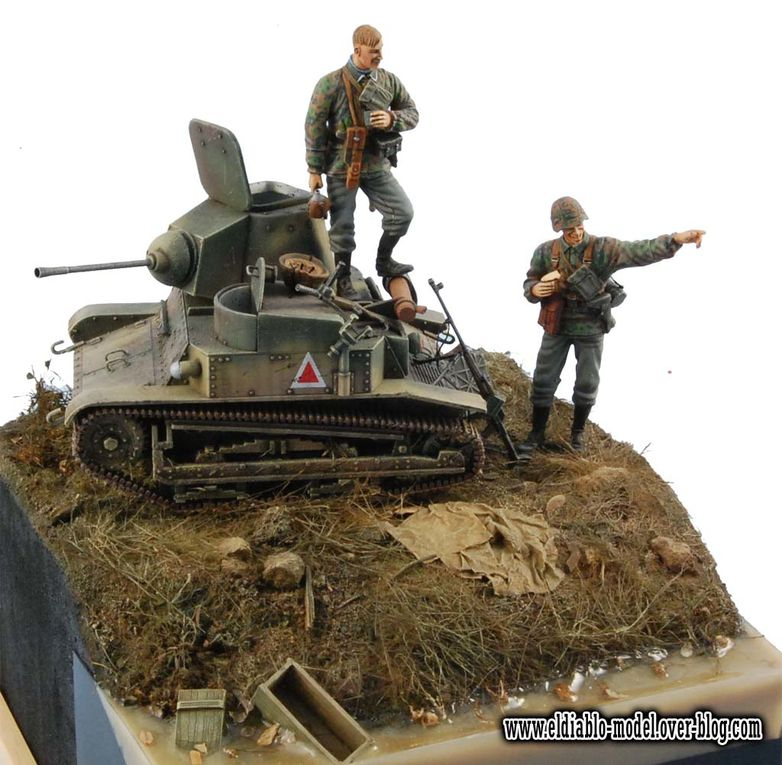 Some of competition entries and real tanks show