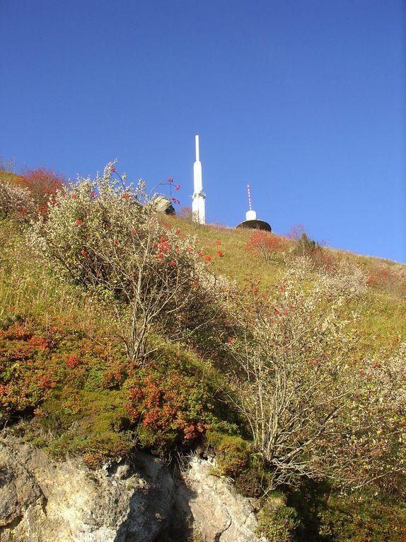 Puy de Dôme, Col de La Croix Morand, par vallée de Chaudefour, Besse, St Victor La Rivière, Murol, Lac Chambon, Col de la Croix Morand à vélo