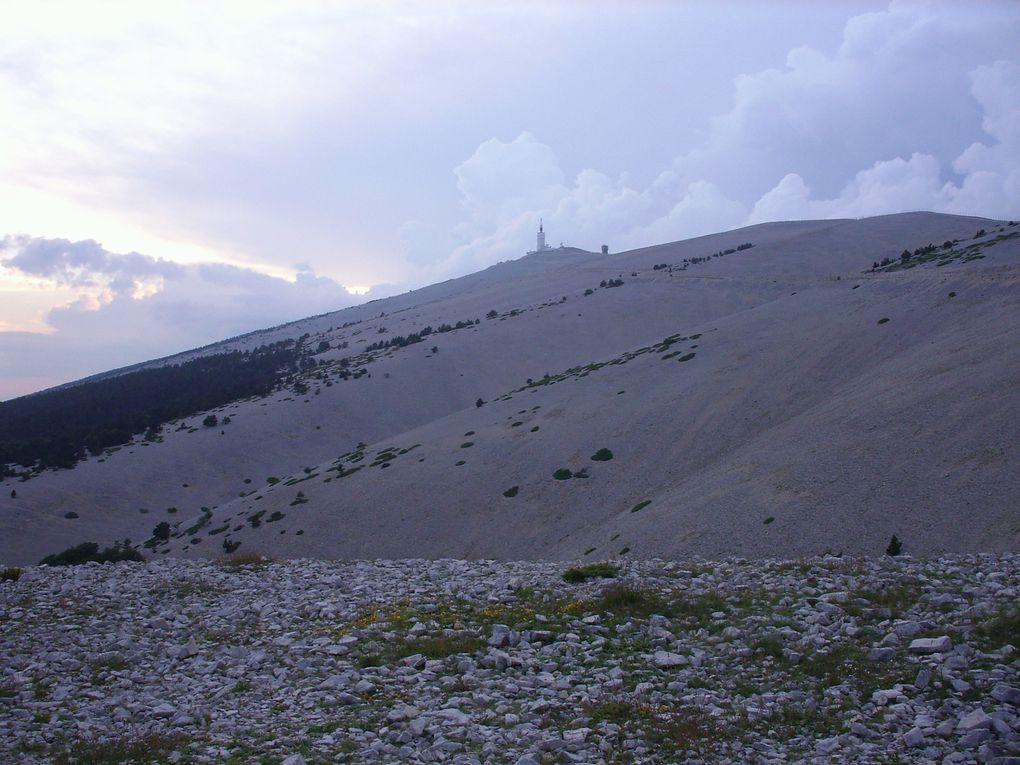 Cinglés du Ventoux et Bicinglette stoppée juin 2009