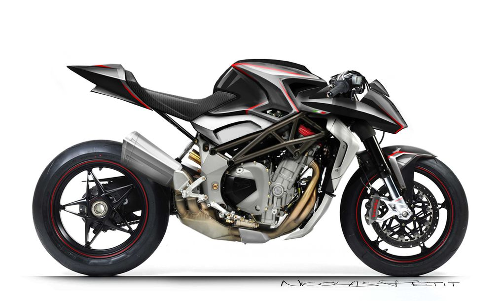 Album - MV-agusta Revaval of the Target 750