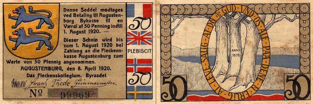 Billets de nécessité allemand
