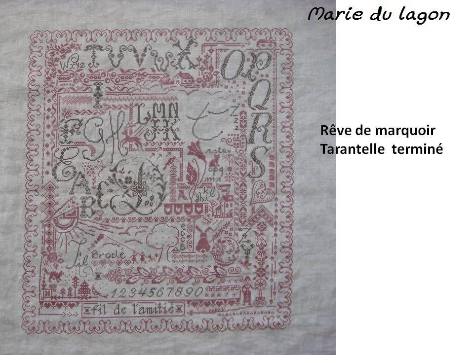 Album - Les Rêves de marquoir terminés
