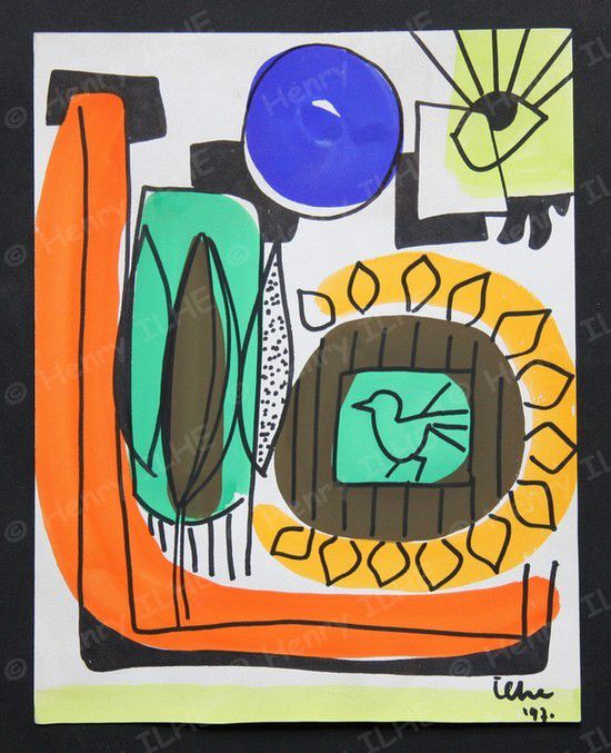 Album - Gouaches-1969-1971