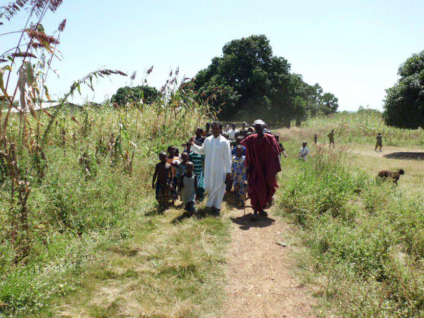 Paroisse de Sonahoulou au nord du Bénin et ses activités pastorales...