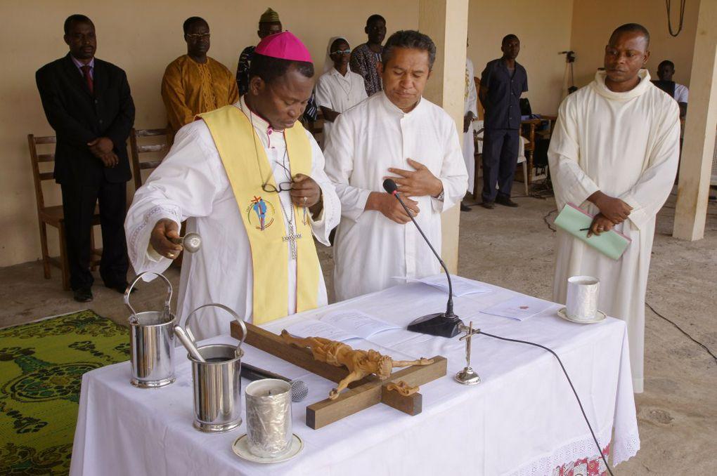 Inauguration du Centre Médico-Social à Kpatchilé, dans le diocèse de Kara