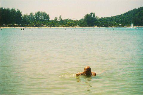 Playa en el Mar de Andamán y la Laguna